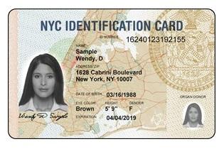 ID NYC Card