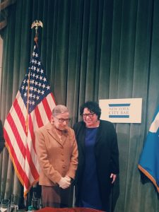 Justices Ruth Bader Ginsberg and Sonia Sotomayor