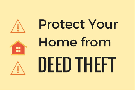 protect your home from deed theft