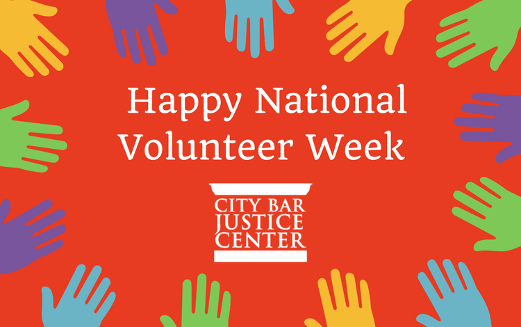 Happy National Volunteer Week