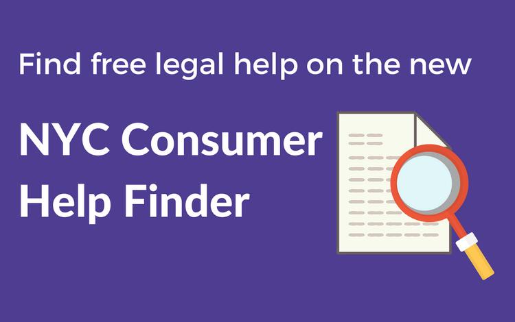 NYC Consumer Help Finder
