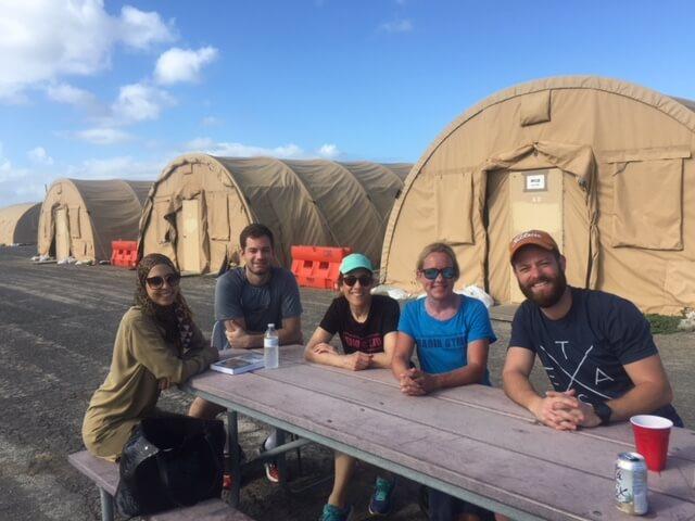 Elisa Alcabes Observes Guantanamo Bay
