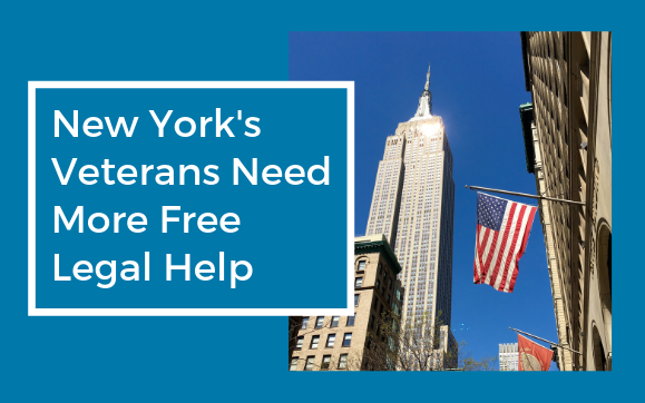 NY's Veterans Need More Free Legal Help